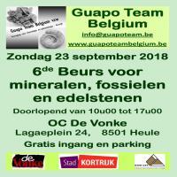 Bourse 2018 du Guapo Team Belgium.